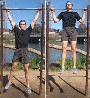 Wide Arm Pull Ups